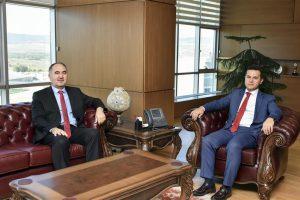 Rektörümüz Prof. Dr. Nihat DALGIN'dan Kastamonu Ziyareti