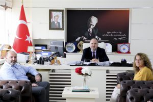 AK Parti Erfelek İlçe Teşkilatından Rektörümüze Ziyaret