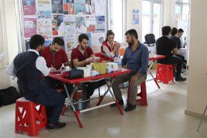 Öğrencilerimizden Kan Bağışına Destek