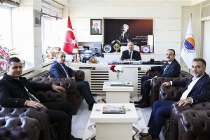 Ak Parti Boyabat İlçe Yönetiminden Rektörümüze Ziyaret