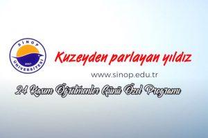 Eğitim Fakültesi 24 Kasım Öğretmenler Günü Özel Yayını