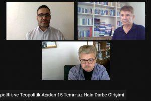 """Üniversitemizde """"Jeopolitik ve Teopolitik Açıdan 15 Temmuz Hain Darbe Girişimi"""" Paneli"""