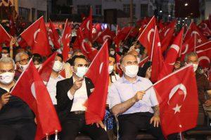15 Temmuz Demokrasi ve Milli Birlik Günü Anma Programı, Sinop'ta Coşkuyla Gerçekleştirildi