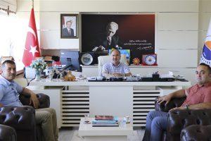 Sinop İl Genel Meclis Başkanından Rektörümüze Ziyaret