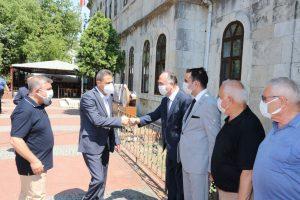 Sinop İl Protokolü Bayramlaşma Töreninde Buluştu