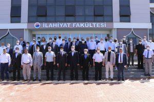 Sinop İl Koordinasyon Kurulu Toplantısı, Üniversitemiz Ev Sahipliğinde Düzenlendi