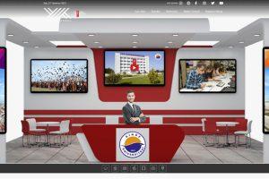 """Üniversitemiz, """"Study in Turkey YÖK Sanal Fuarı""""nda Aday Öğrencilerle Buluştu"""