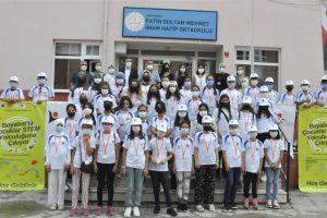 """TÜBİTAK 4004, """"Boyabat'ta Çocuklar STEM Yolculuğuna Çıkıyor"""" Projesi Gerçekleştirildi"""